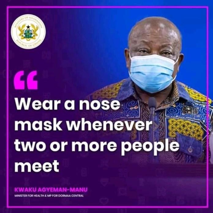 COVID-19: Ghana's Minister for Health has the Coronavirus
