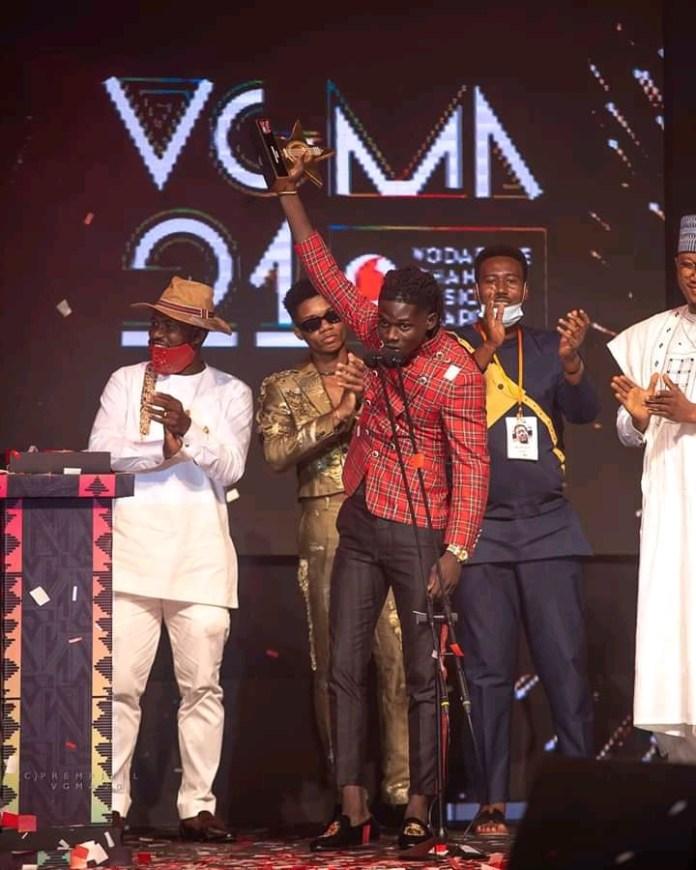 list of VGMA 2020 award winners, Kuami Eugene