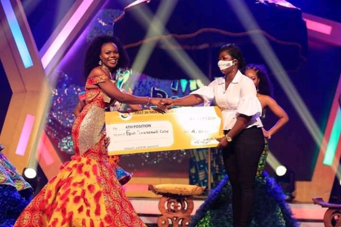 Naa crowned queen of Ghana's Most Beautiful 2020