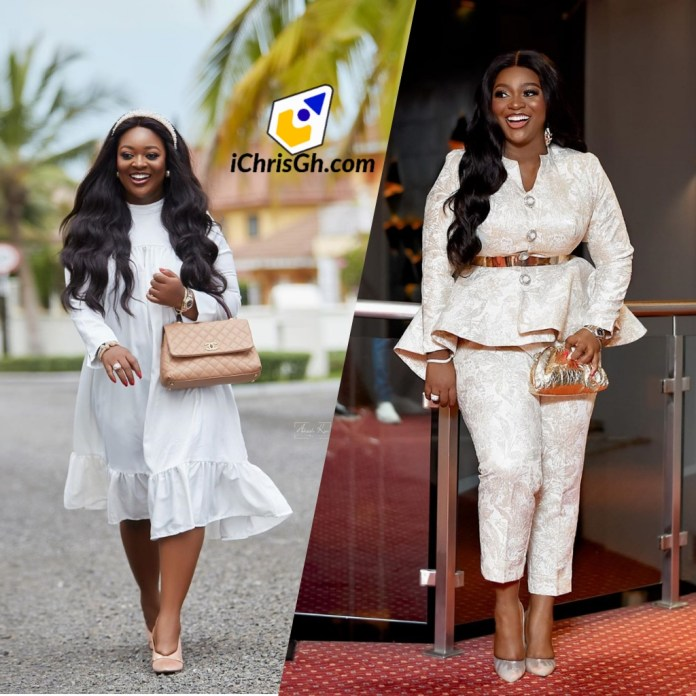"Jackie Appiah finally opens up about her pregnancy rumours ""my laughter dispels lies and fabricated stories"""