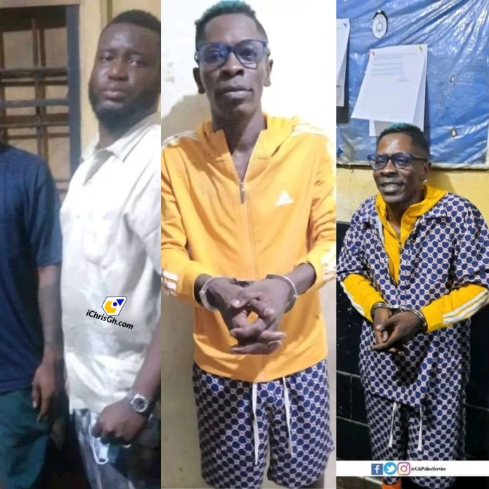 Shatta Wale granted bail with his three accomplices at GHC 100,000 each