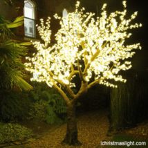 Pure White LED Weeping Willow Trees IChristmasLight