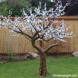Christmas decor white LED cherry tree