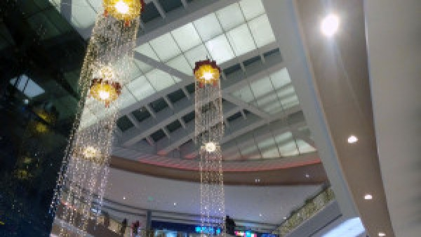 Customizable mall hanging decorative light