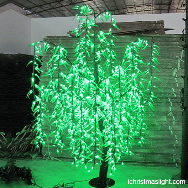 Artificial Willow LED Trees Made In China IChristmasLight