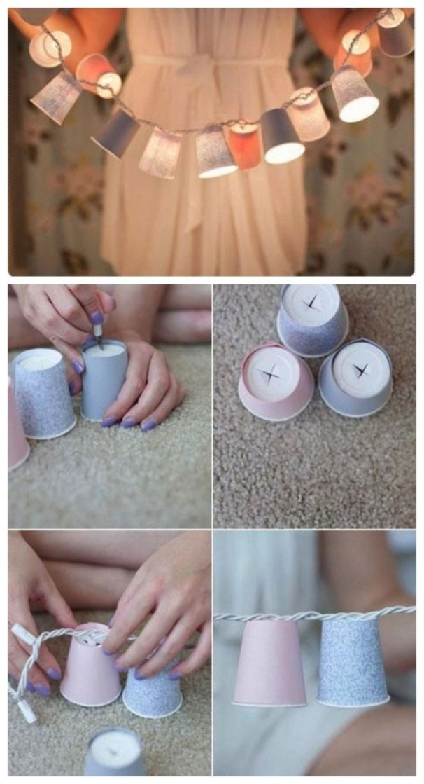Christmas DIY with Disposable Cups