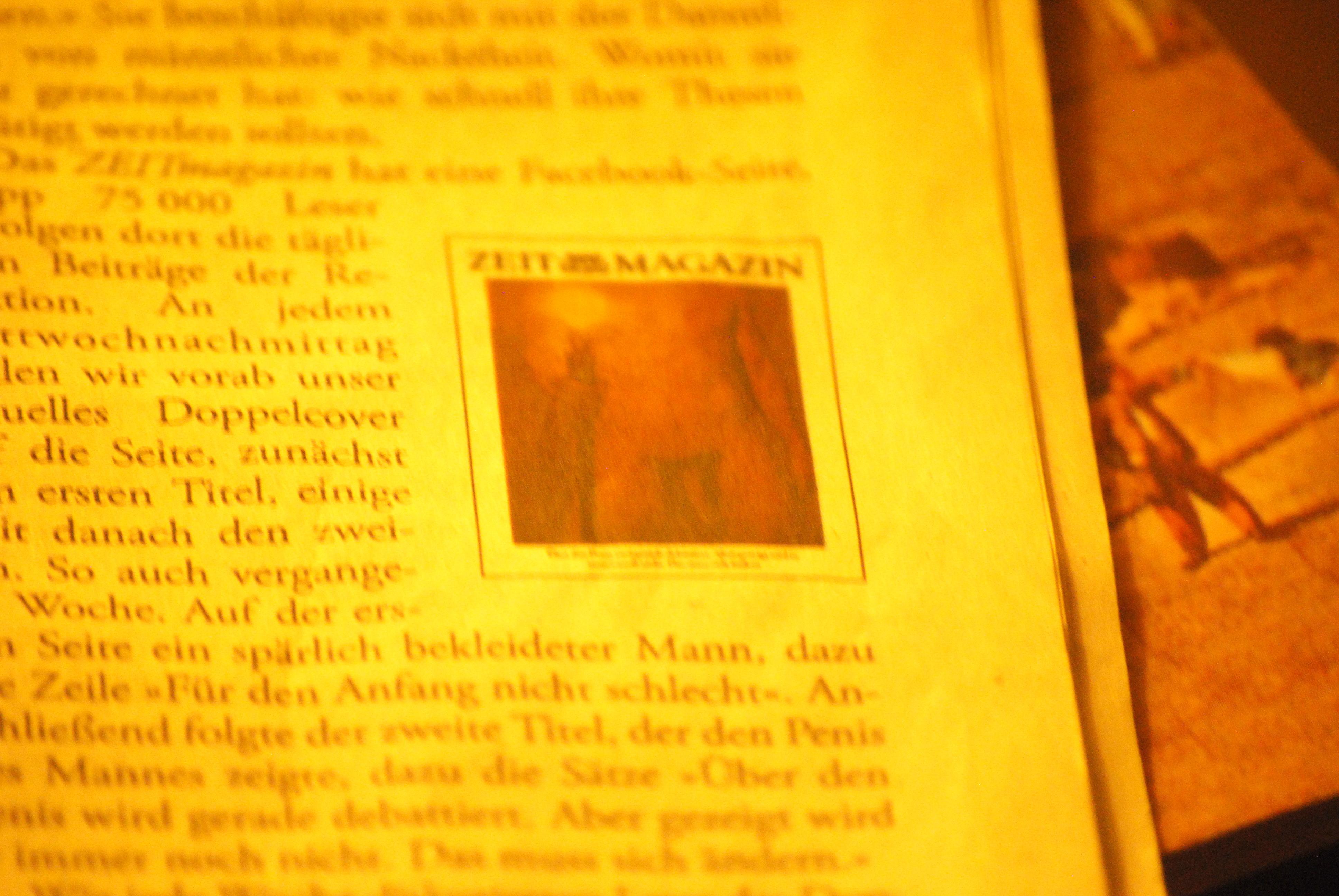 Eine Facebook Penis Frage An Gunnar Bender Zeitmagazin