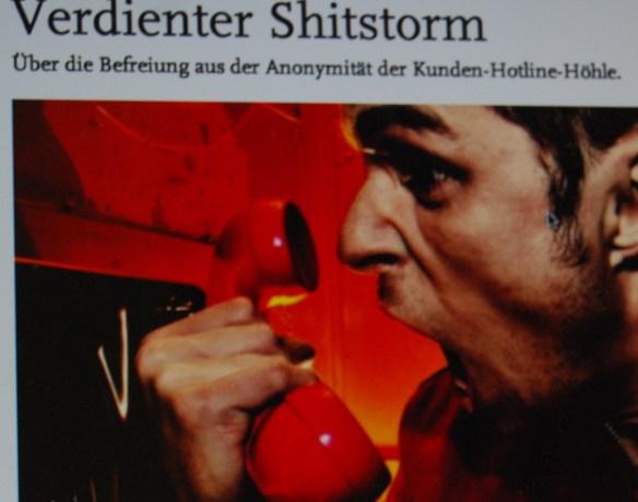 Telekom schreit nach Shitstorms