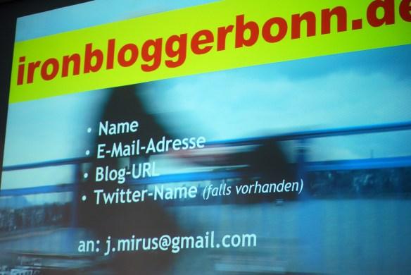 Ironblogger bei der Socialbar