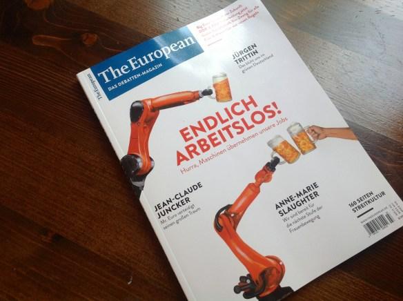 The European-Printausgabe