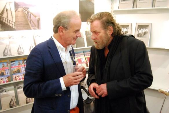 Wolfgang Schiffer im Gespräch mit dem Verleger Stefan Weidle