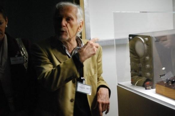 Wissenschaftler und Science Fiction-Autor Professor Franke