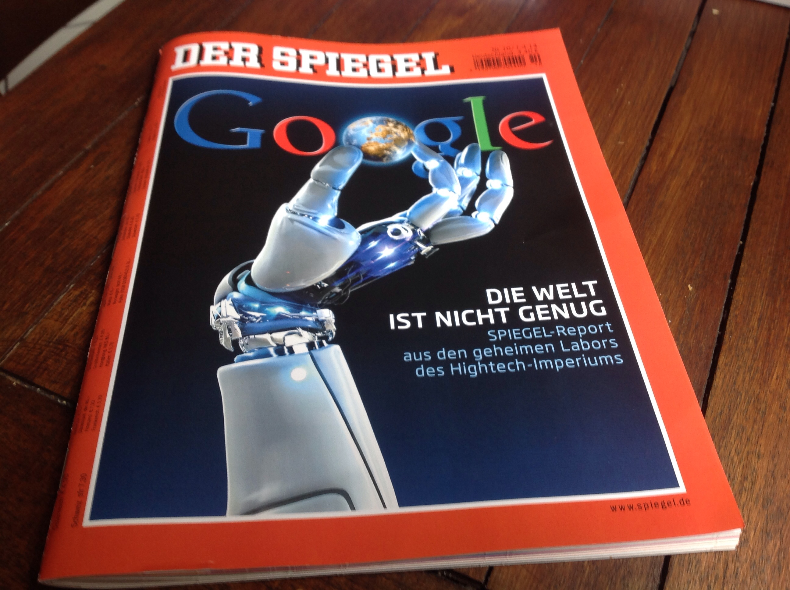 Google Macht Zukunft Auch In Der Industrie Und Deutschland