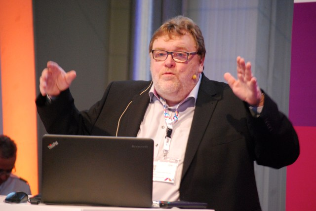Wolf Lotter von brandeins auf der IBM BusinessConnect in Köln