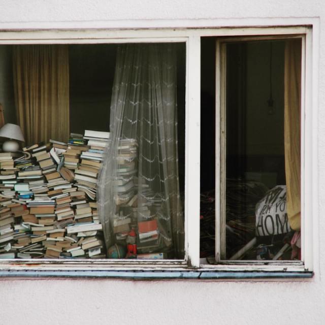 Bücherhaufen