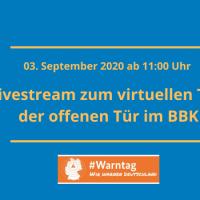 Virtueller Tag der offenen Tür zum #Warntag2020 — ichsagmal.com