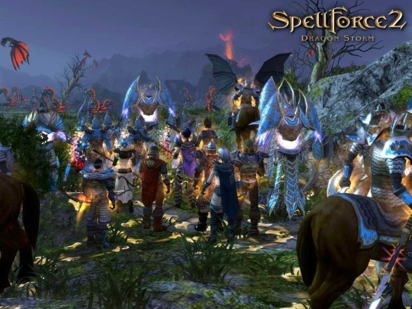 SpellForce 2: Dragon Storm - Screenshot
