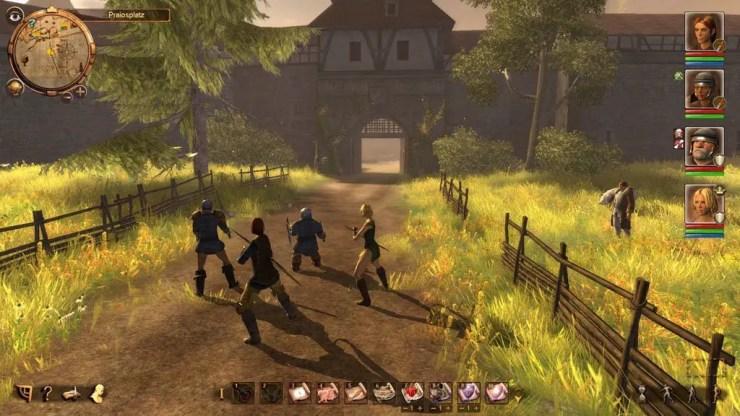 Das Schwarze Auge: Drakensang - Screenshot