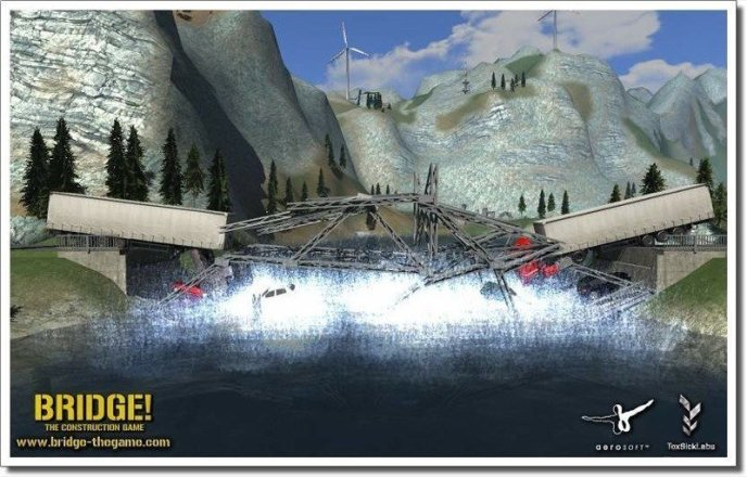 Bridge! The Construction Game Screenshot