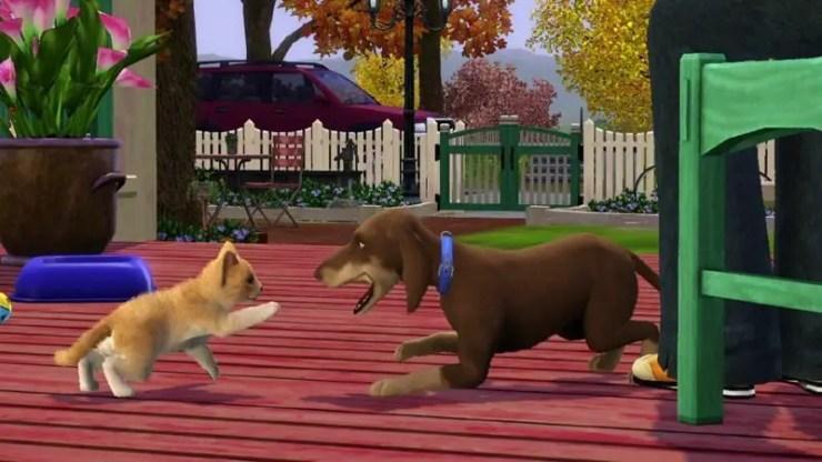 Die Sims 3: Einfach tierisch, Bild: Maxis