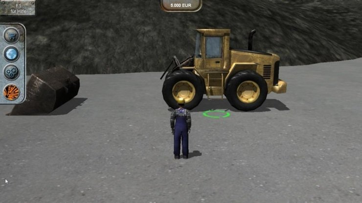 Steinbruch-Simulator 2012, Bild: astragon