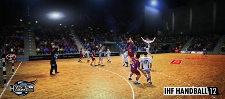 IHF Handball Challenge 12, Bild: Neutron Games