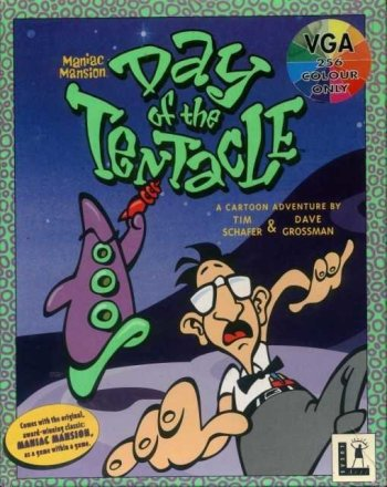 Cover von Day of the Tentacle