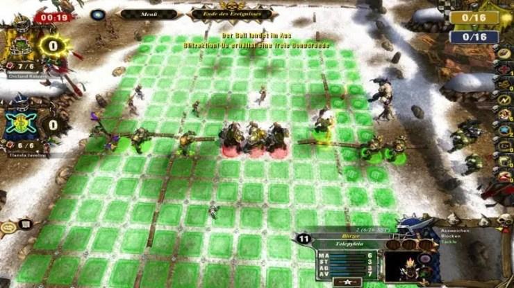 Screenshot aus Blood Bowl: Legendary Edition