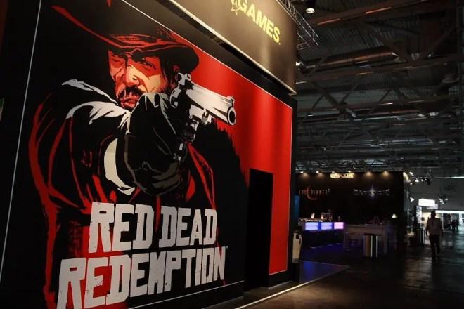 Red Dead Redemption auf der Gamescom 2009, Foto: Frederic Schneider