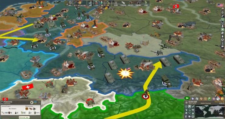 Making History 2: The War of the World Screenshot