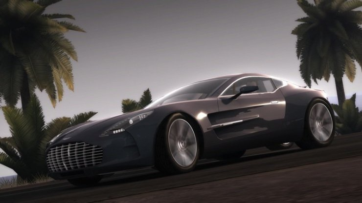 Test Drive Unlimited 2 - Aston Martin One-77 (Silber)