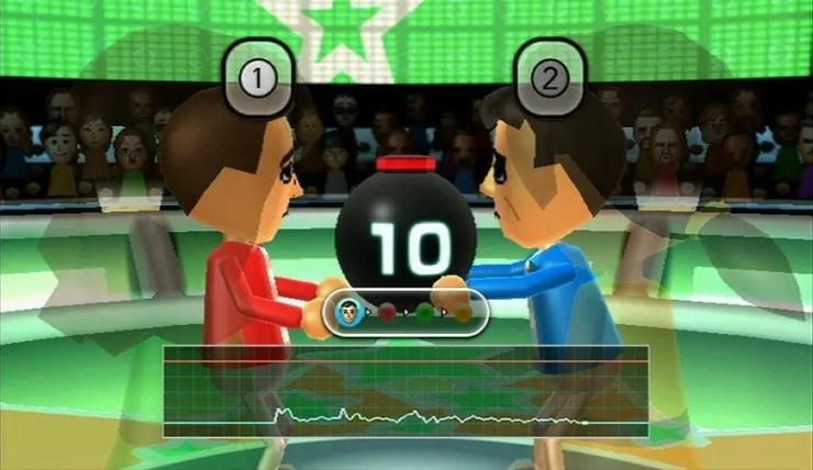 Wii Party - Bombe reichen