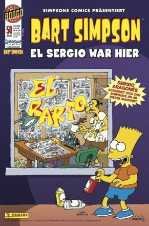 Bart Simpson - Cover Ausgabe #50