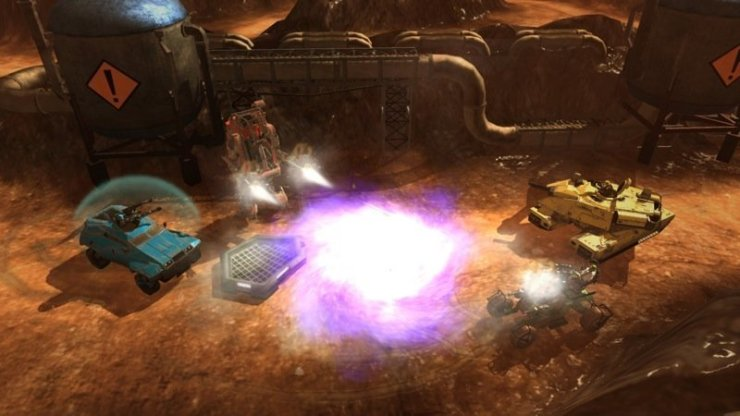 Red Faction: Battlegrounds - Singularity Bomb