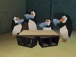 Die Pinguine aus Madagascar - beim Kartenspiel