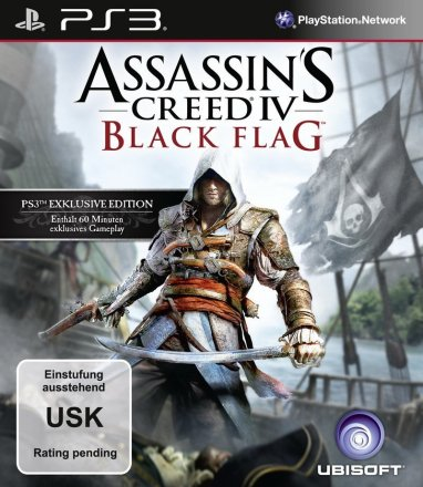 Assassin's Creed 4: Black Flag - Packshot PS3