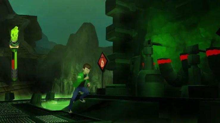 Ben 10 Alien Force: Vilgax Attacks - Ben rennt