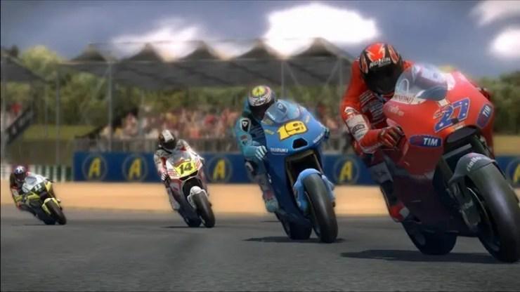 MotoGP 10/11 - Screenshot