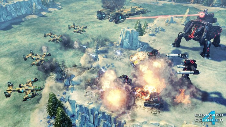 Command and Conquer 4: Tiberian Twilight - Multiplayer-Map Arctic