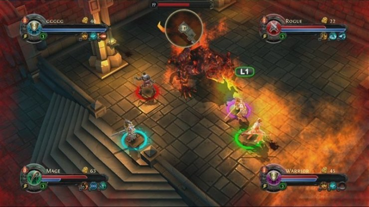 Dungeon Hunter: Alliance - Screenshot
