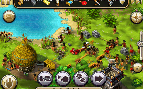 Die Siedler - iPhone-Screenshot