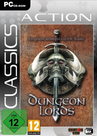 Dungeon Lords - Cover PC