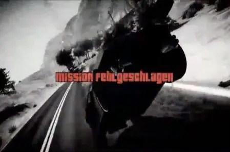 Grand Theft Auto 5: Mission fehlgeschlagen