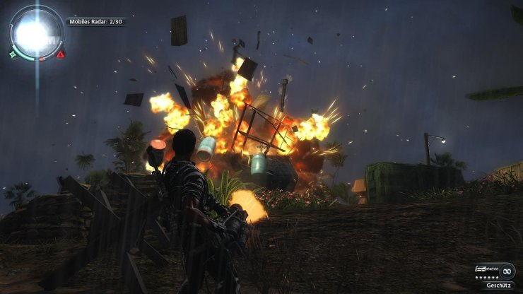 Just Cause 2 - Explosion