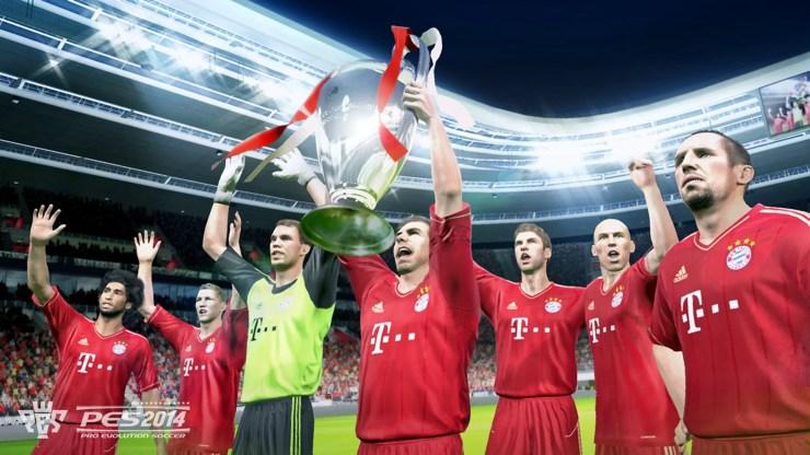 PES 2014: Bayern München gewinnt Champions League