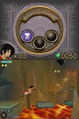 Prince of Persia: Die vergessene Zeit - Screenshot NDS
