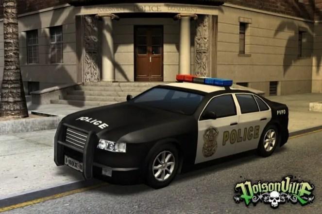 Poisonville - Polizeifahrzeug