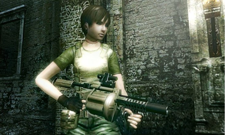 Resident Evil: The Mercenaries 3D - Rebecca Chambers