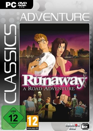 Runaway: A Road Adventure - Cover PC