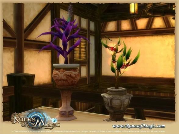 Runes of Magic: Pflanzen-System